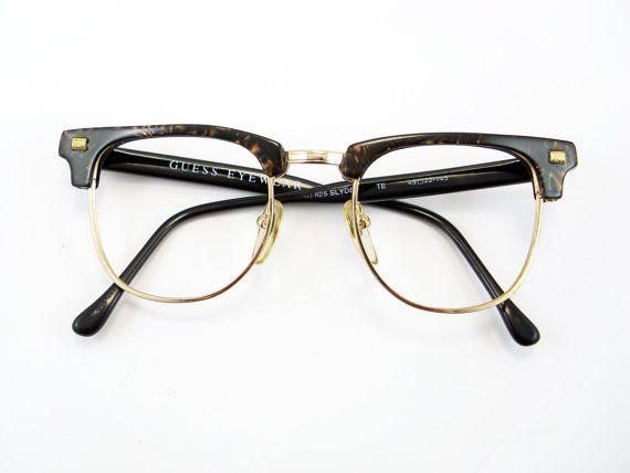 Vintage Guess Frame Eyeglasses Sunglasses Glasses New Etsy Vintage Eyeglasses Eyeglasses Vintage Accessories