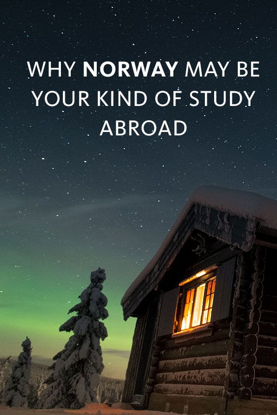 If you've been waiting for the perfect opportunity to sport your winter gear, Norway is it! Pull out those scarves, gloves, hats and boots and get ready for the refreshing feeling of crisp winter days studying abroad in one of the most amazing destinations in the world. Read on to see what the experience is like traveling to Norway.