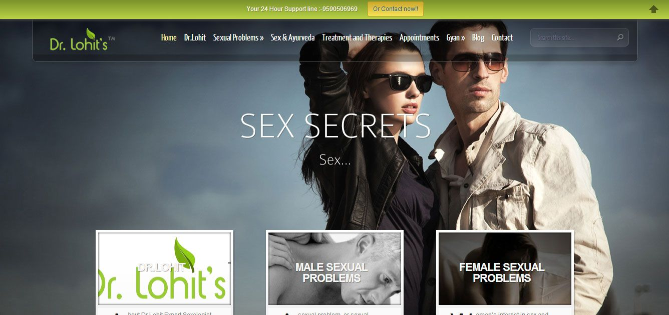 Our Web Designing Samples 1