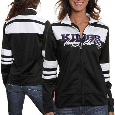 differently d845b 3ffc4 Reebok Los Angeles Kings Women's Striped Hockey Club Track ...