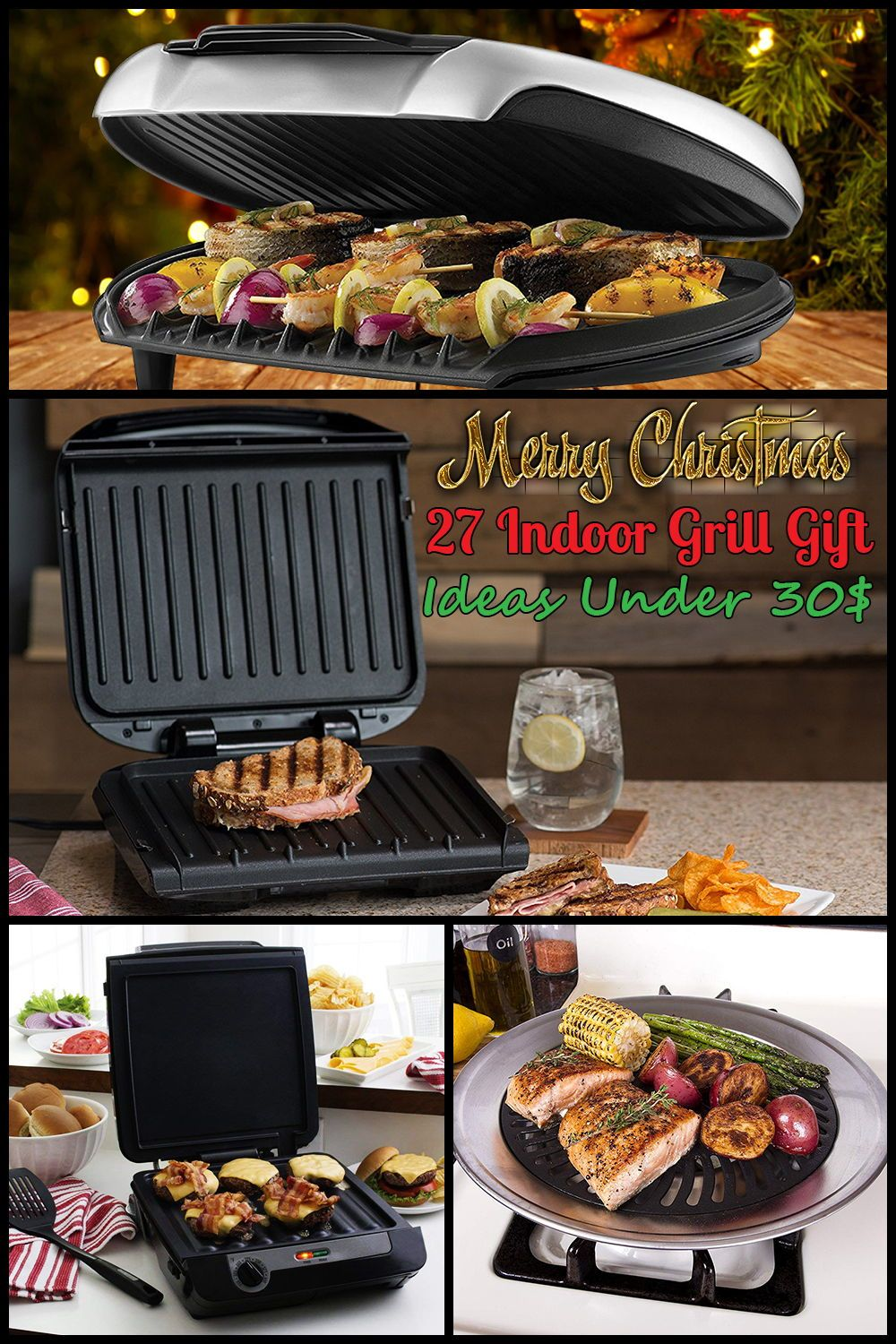 George Foreman 240 Indoor Outdoor Electric Grill Portable Home Bbq 15 Servings Georgeforeman Grilling Electric Grill Charcoal Grill