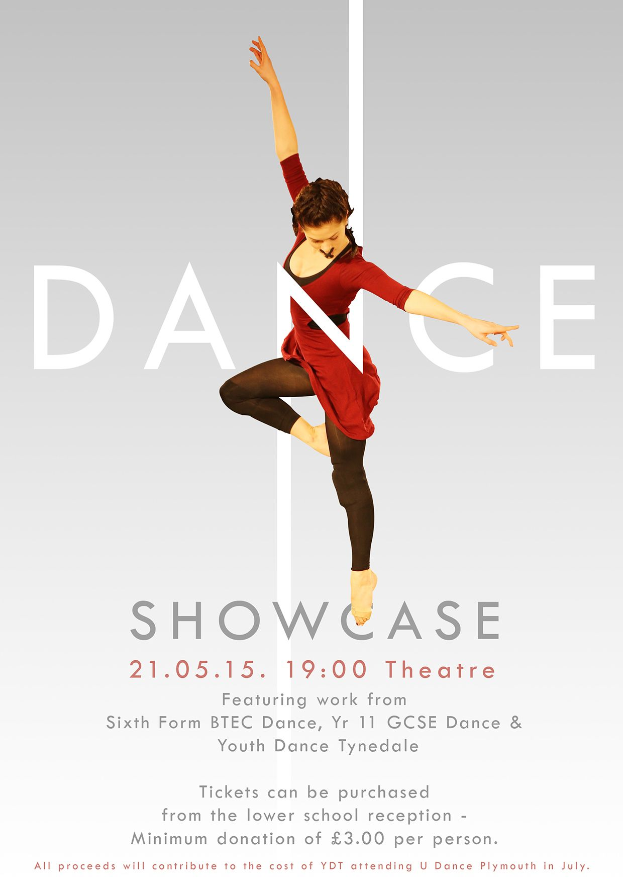 Dance Showcase Poster On Behance Dance Poster Design