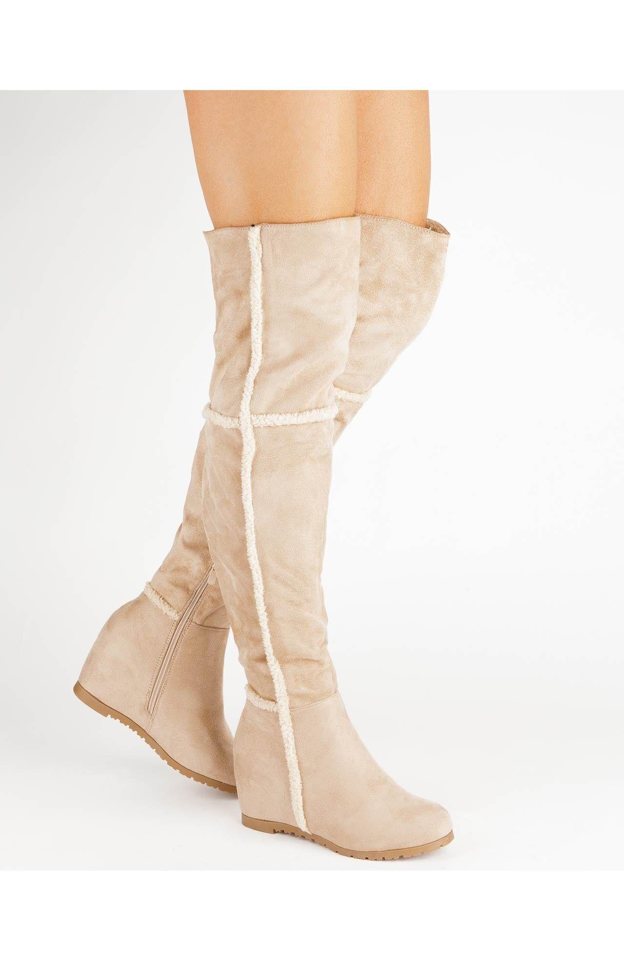 Kozaki Za Kolano Have2have Shoe Wishlist Boots Shoes