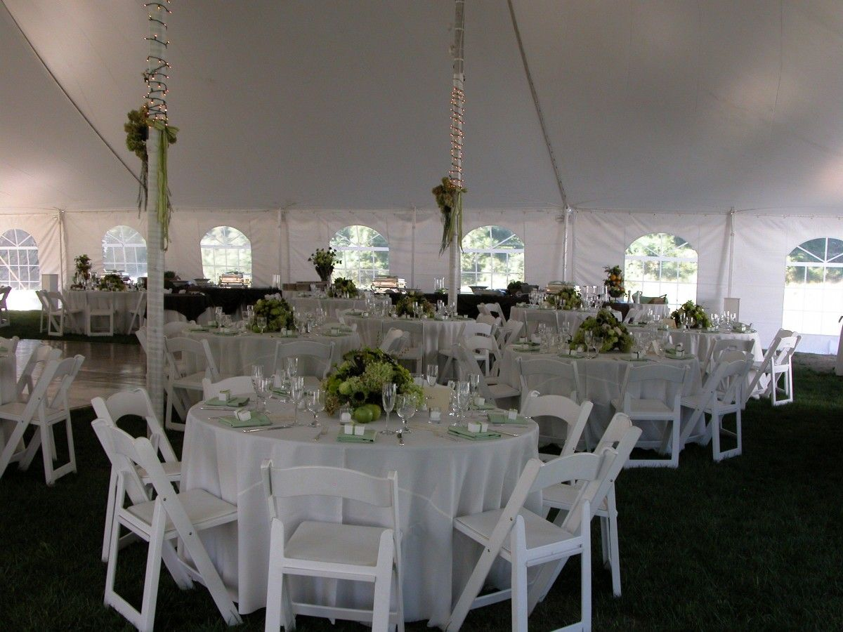 White Resin Folding Chairs Go Great With Any Event