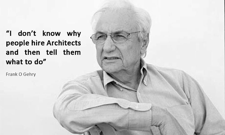 frank o gehry architects quotes pinterest. Black Bedroom Furniture Sets. Home Design Ideas