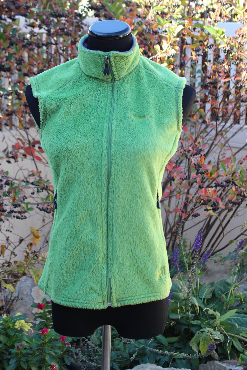 Patagonia Lime Green Plush Vest Size M Lime green