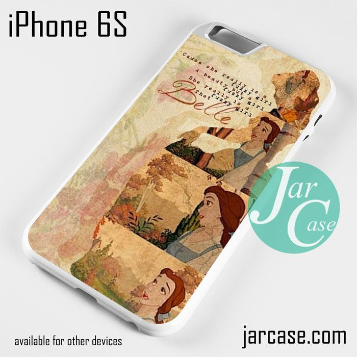 Belle Beauty But Funny Phone case for iPhone 6/6S/6 Plus/6S plus
