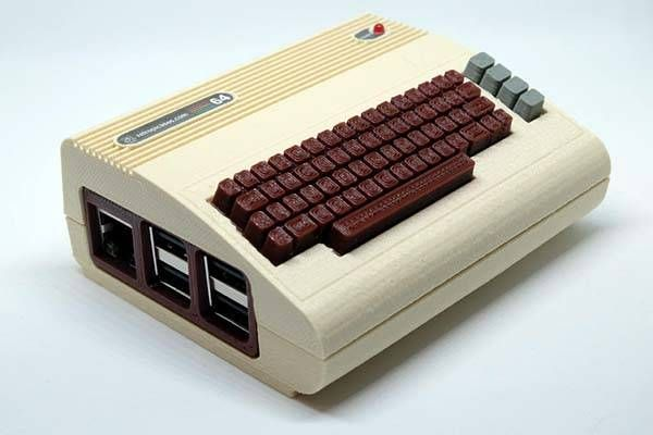 The 3D Printed Raspberry Pi Case Looks Like a Commodore 64