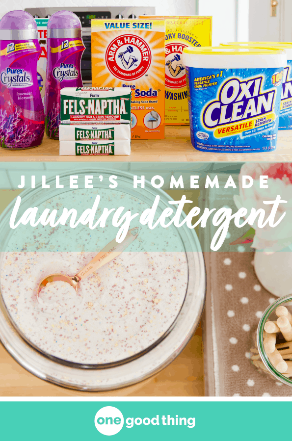 This Is Simply The Best Homemade Laundry Detergent Ever With