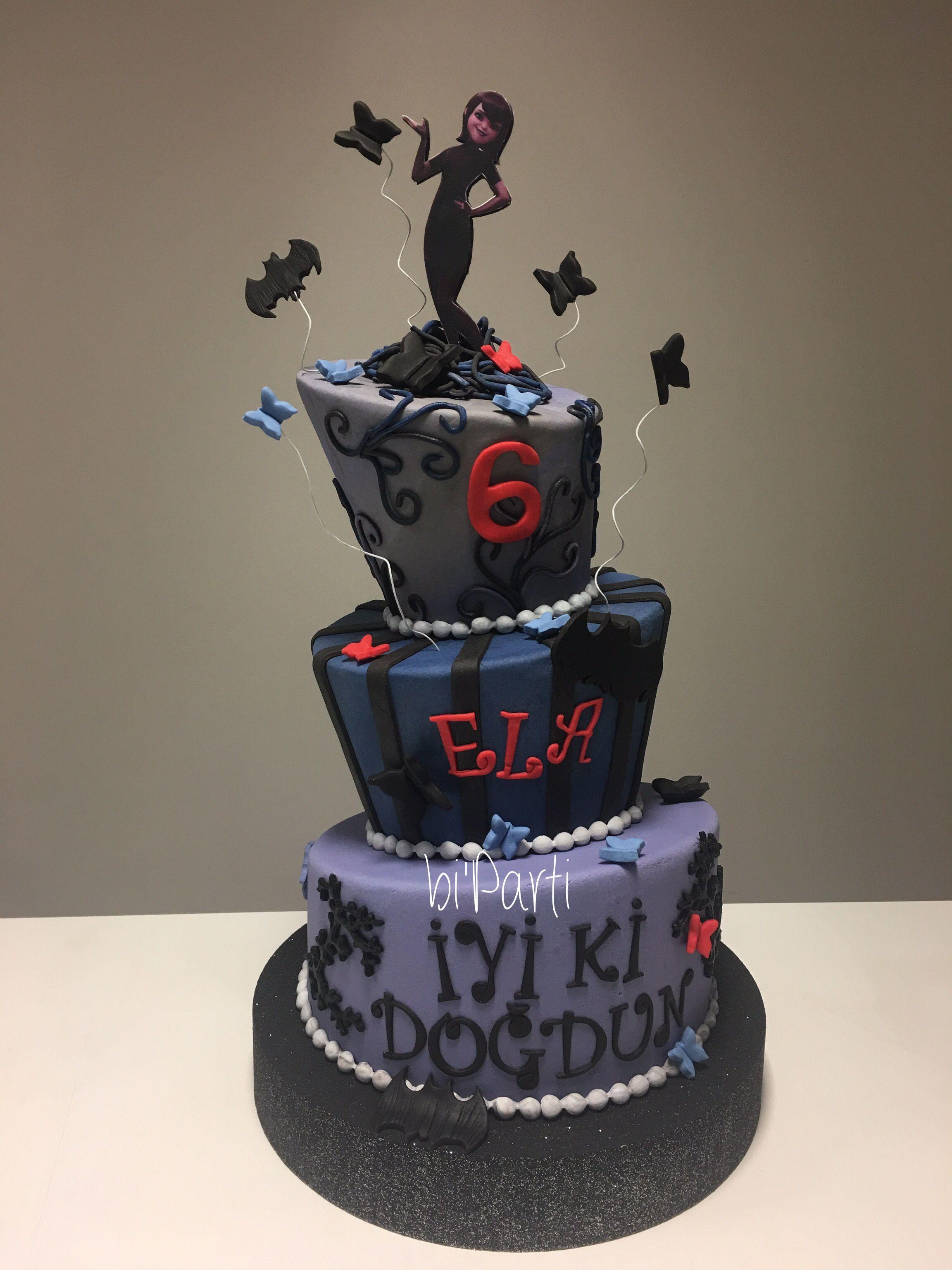 Hotel Transylvania Birthday Cake Festa Infantil T