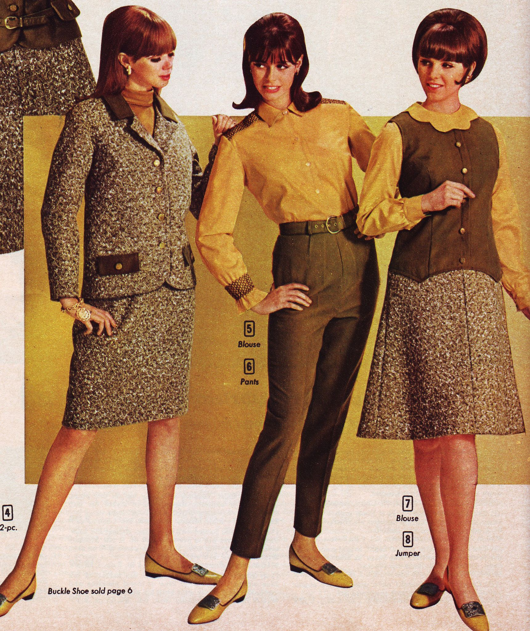 Aldens 66 fw brown gold outfits