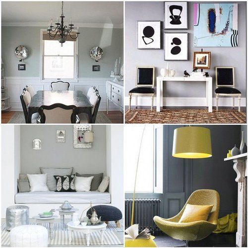 Inspiration: Gray Rooms