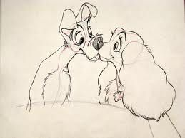 Lady and the Tramp - disney sketches