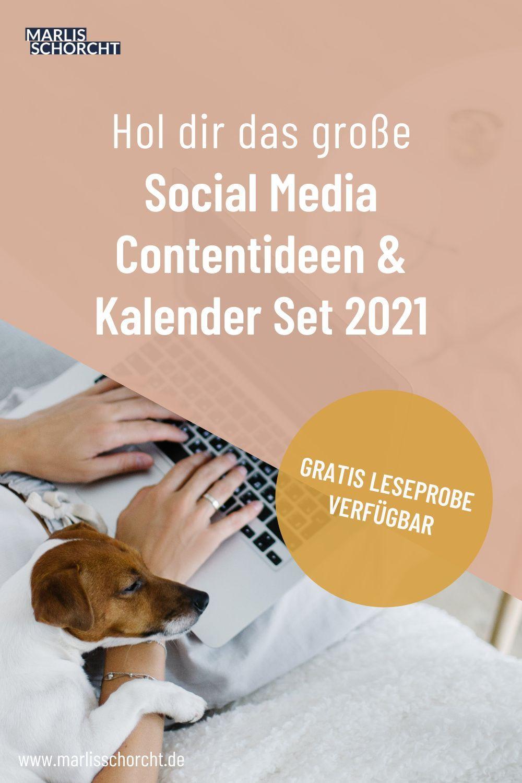 Social Media Kalender 2021   Ideen, Contentideen ...