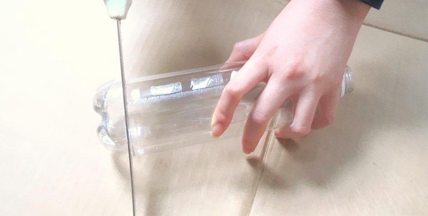 Hur gör man en egen lampskärm lätt? Taklampor, ljuskronor, återvunnet, pet-flaskor