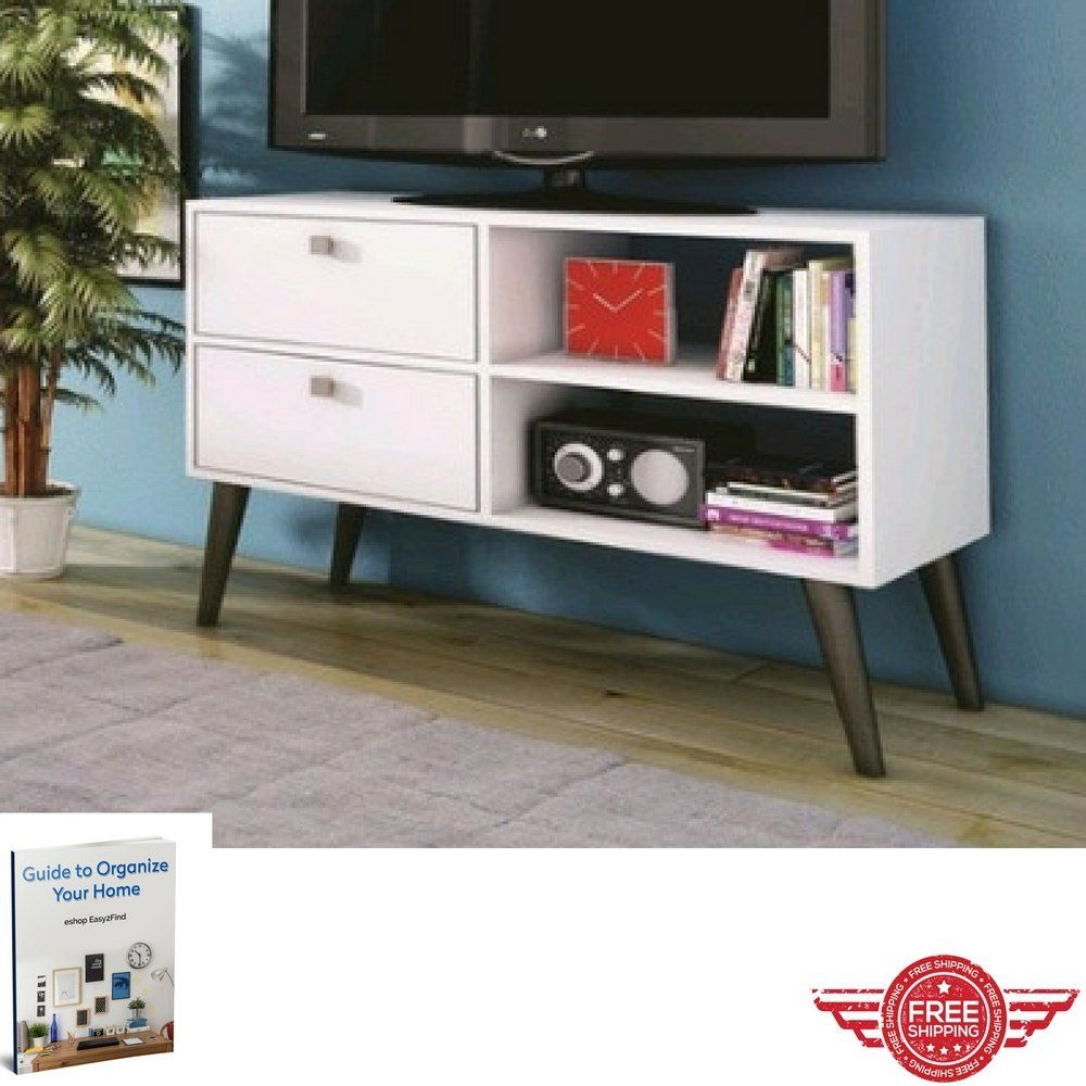 media console table open shelves storage tv stand drawers modern  - media console table open shelves storage tv stand drawers modern minimaldecor indoor house long furniture