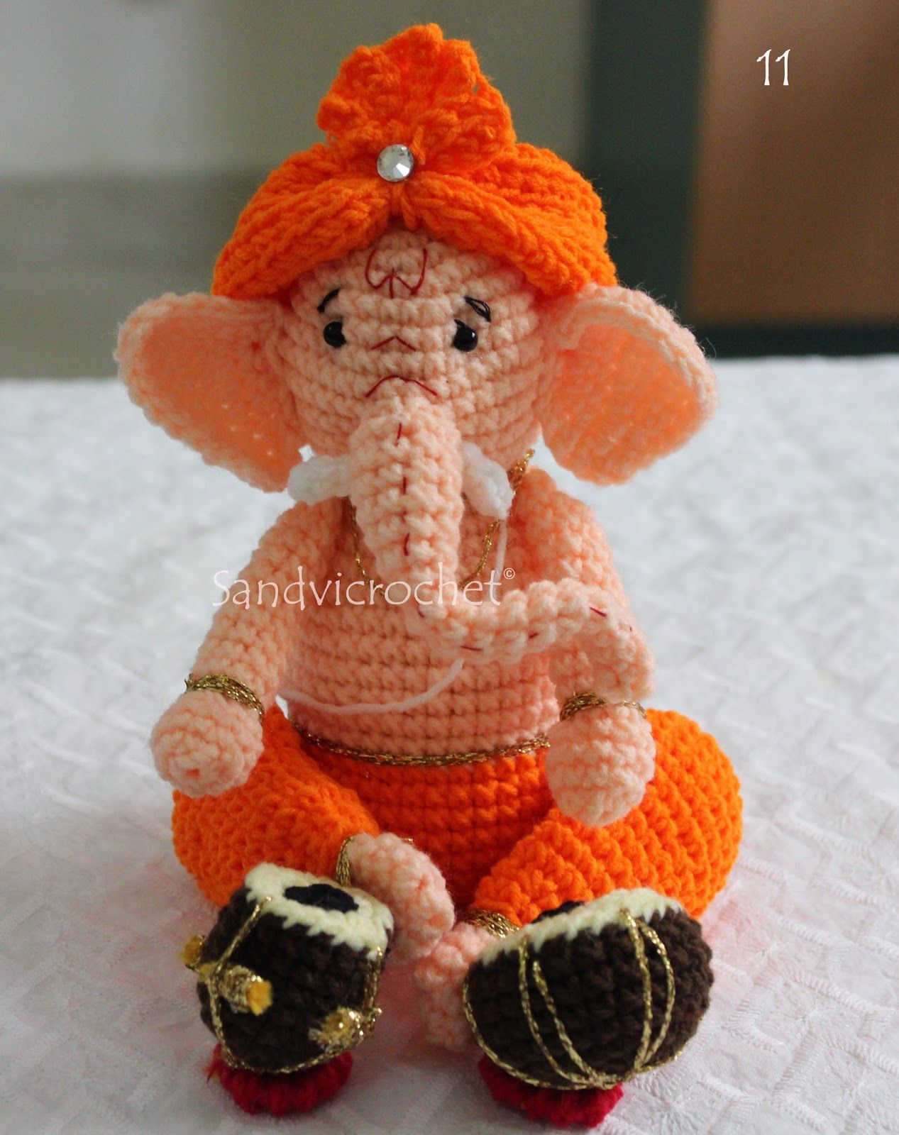 Ganesh images toys  hai friends i will write the pattern soon and that will avaible in