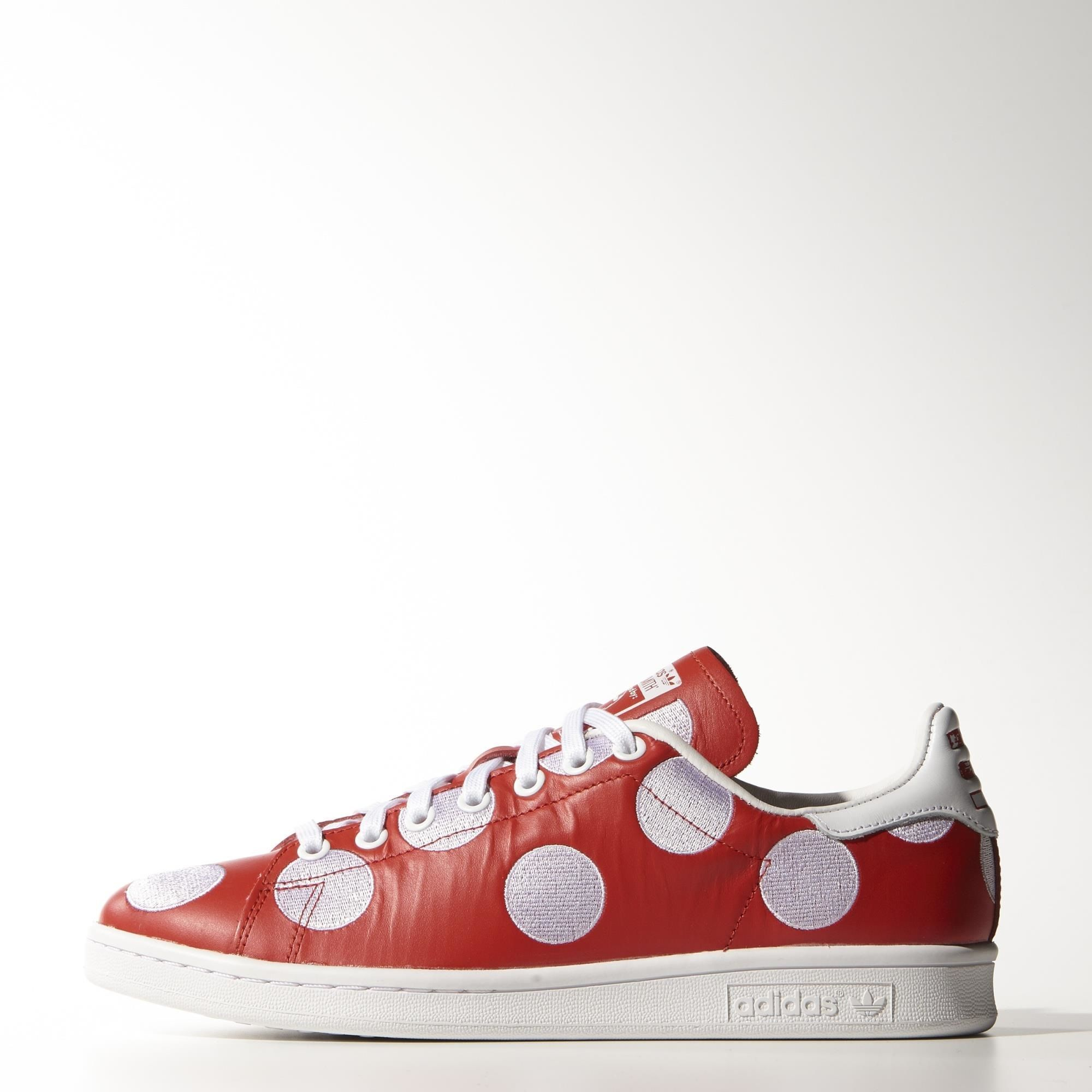 adidas big polka dot shoes