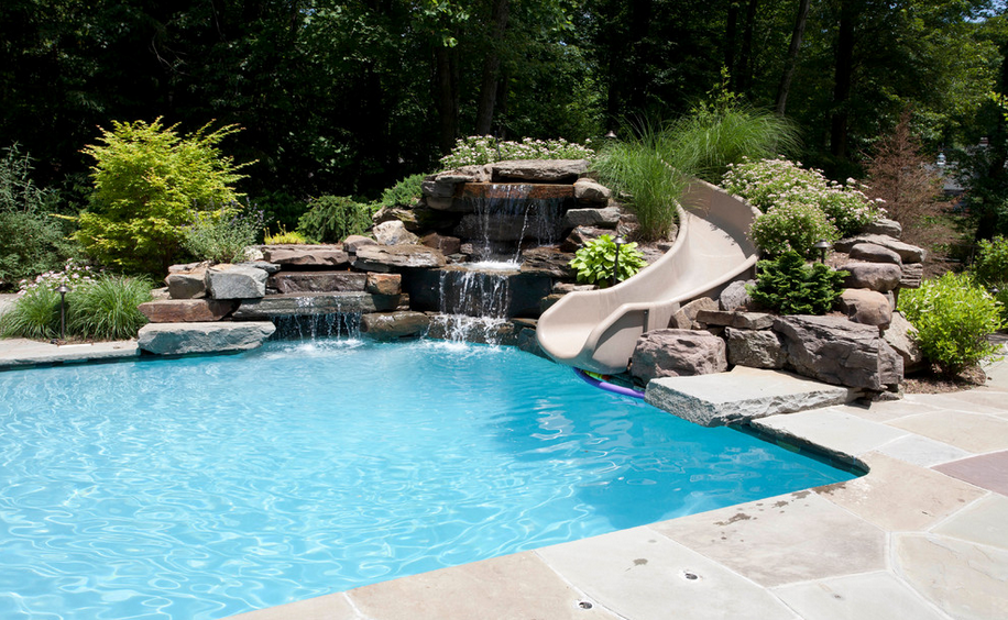 backyard pool with slides. Brilliant Pool Discover Ideas About Swimming Pool Slides For Backyard With