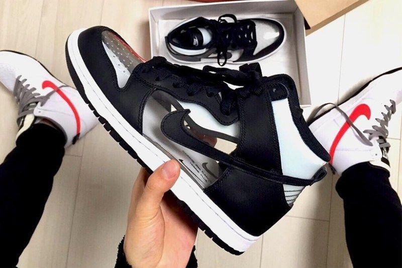 COMME des GARÇONS x Nike Dunk High