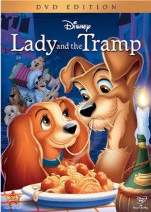 Lady and the Tramp and more on the list of the best Disney animated movies by year