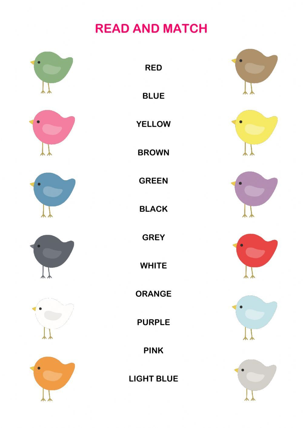 The Colours Interactive And Downloadable Worksheet You Can Do The Exercises Onlin Learning English For Kids English As A Second Language Online Games For Kids [ 1411 x 1000 Pixel ]