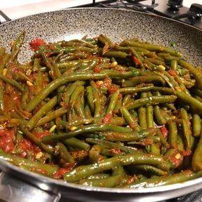 Fagiolini alla pugliese ricetta nel 2019 ricette for Cucinare fagiolini