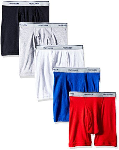 Colors may vary Fruit of the Loom Little Boys 5 pack Boxer Brief