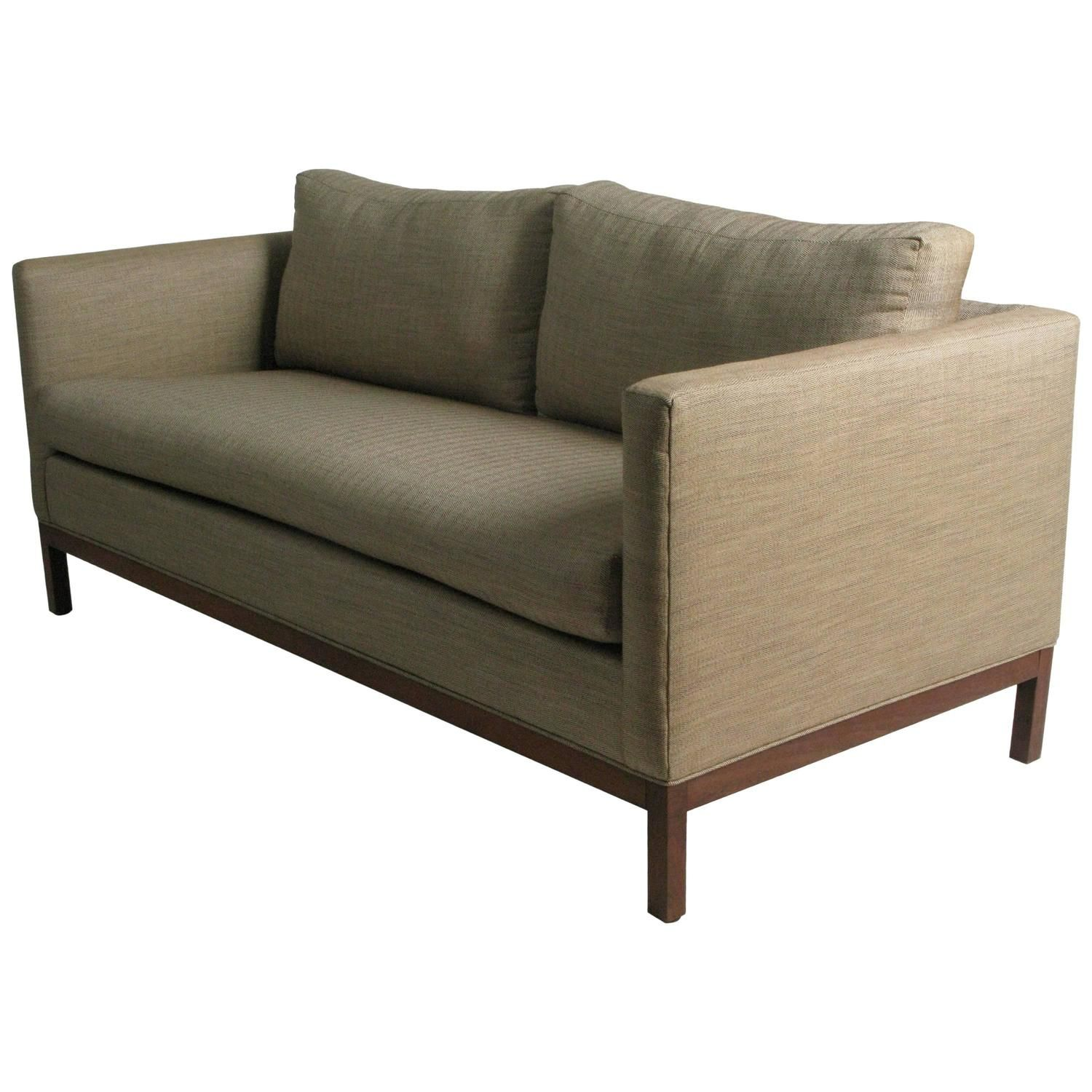 Sensational Compact Tuxedo Sofa By Knoll General Ideas Sofa Sofa Gmtry Best Dining Table And Chair Ideas Images Gmtryco