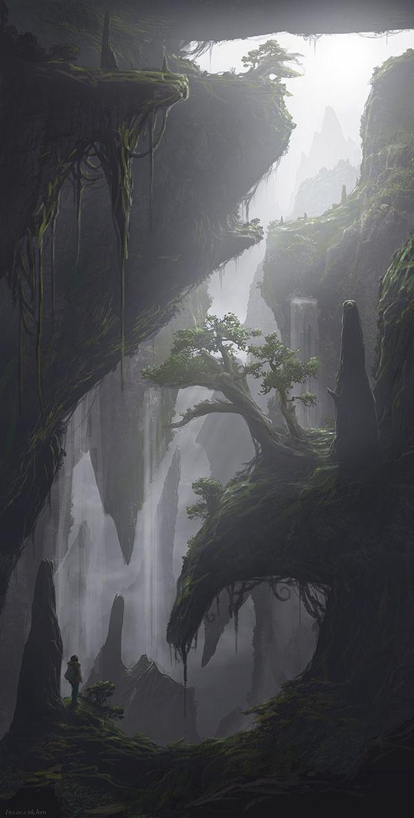 Environment Arts(2D), Improvement critiques would be nice