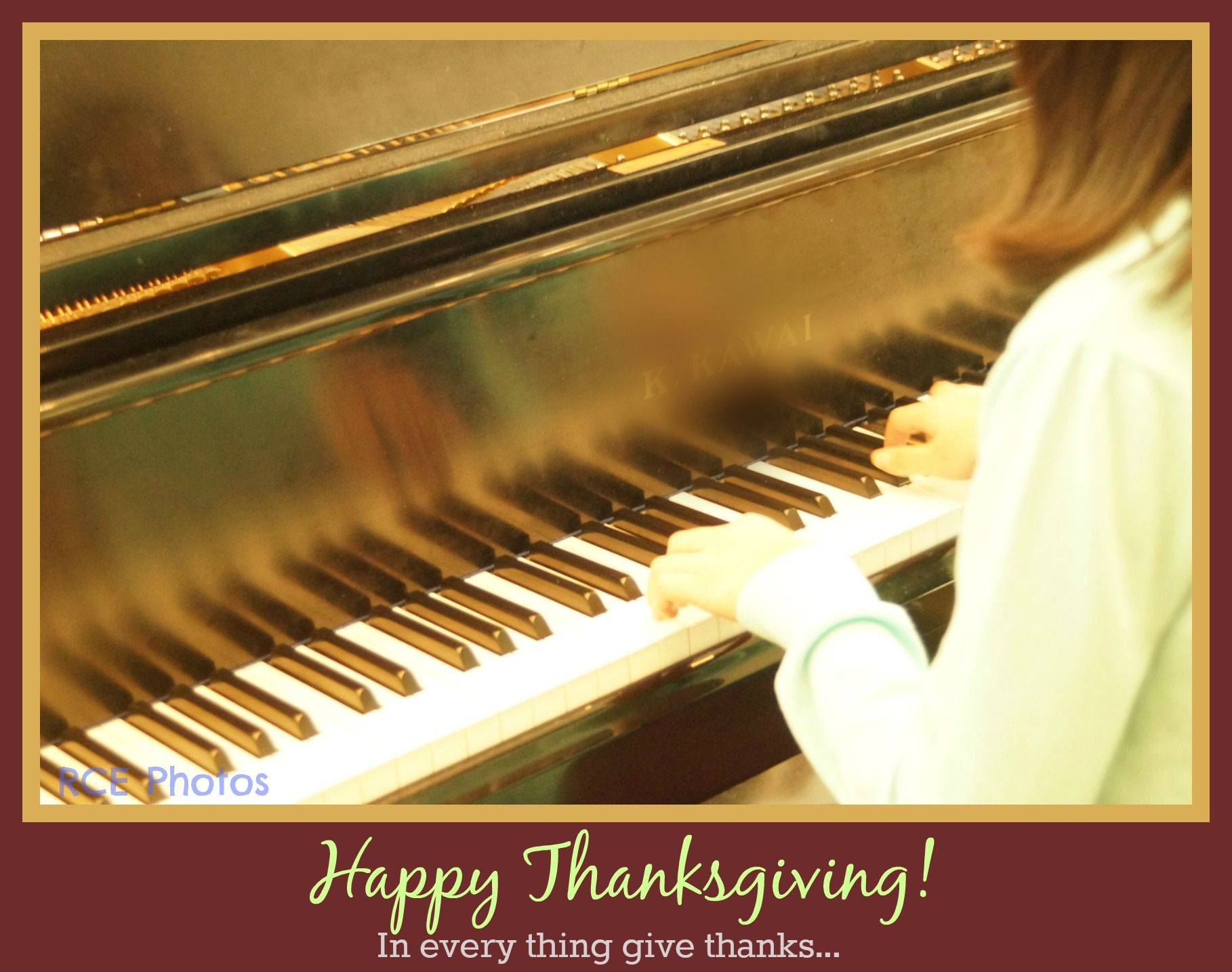It Is A Good Thing To Give Thanks Unto The Lord And To