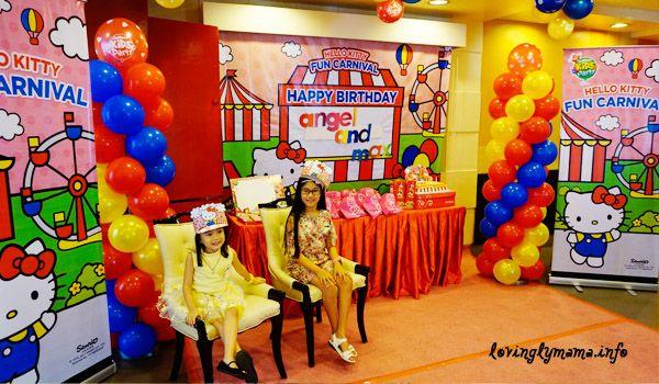 91fc60741 Jollibee Kids Party - Hello Kitty Fun Carnival Theme | Family and ...