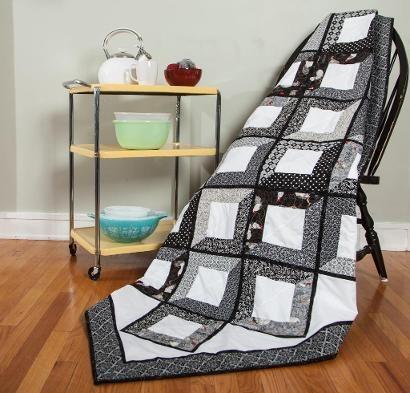 Moda Shades Of Grey Quilt Kit Diy Craftsy Quilt Patterns