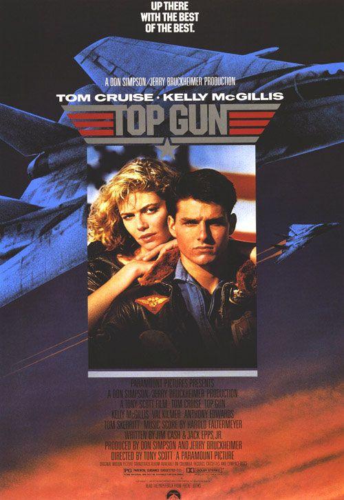Top Gun Movie POSTER 27 x 40 Kelly McGillis Tom Cruise B Val Kilmer USA NEW