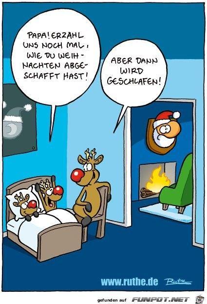 lustiges Bild 'Weihnachten abgeschafft.jpg' von Desiree. Eine von 822 Da #comicsandcartoons