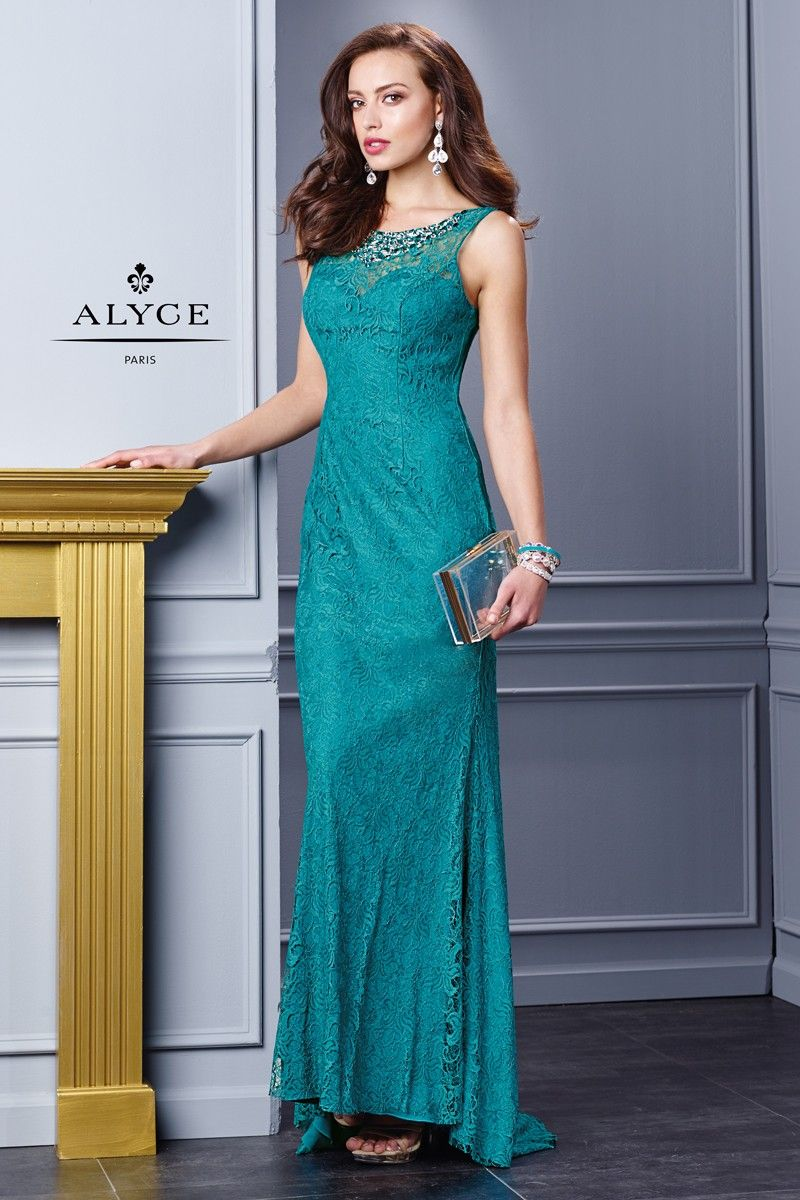 Alyce black label dress style front view fall