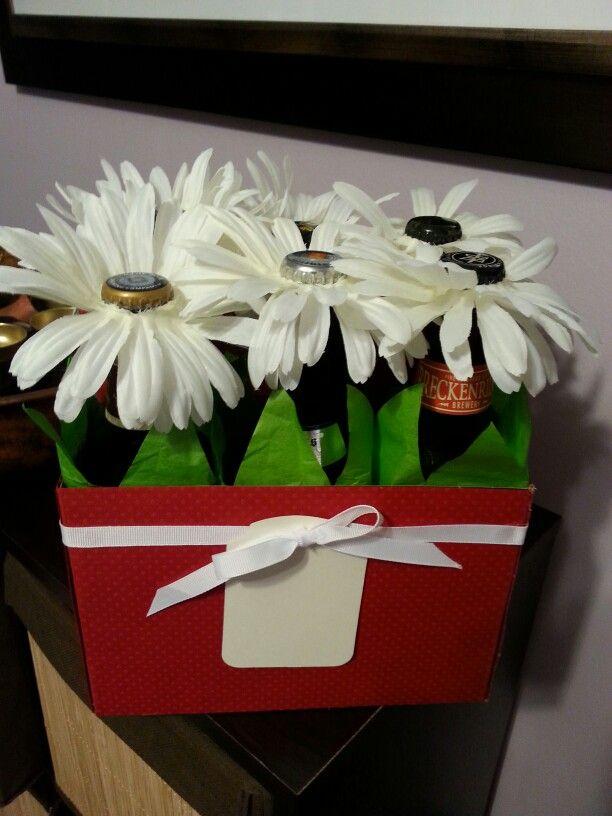 Valentines beer bouquet | Ideias românticas, Dia dos namorados ...