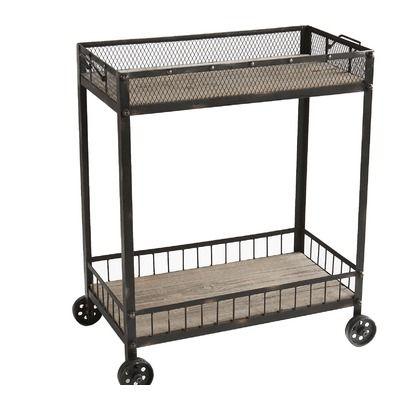 Wildon Home Bowery Cart Executive Rental Iv Living Room Pinterest Living Rooms