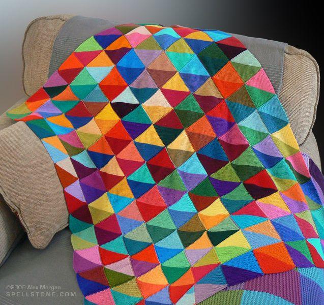 cot blanket patchwork decken h keln stricken und decke h keln. Black Bedroom Furniture Sets. Home Design Ideas