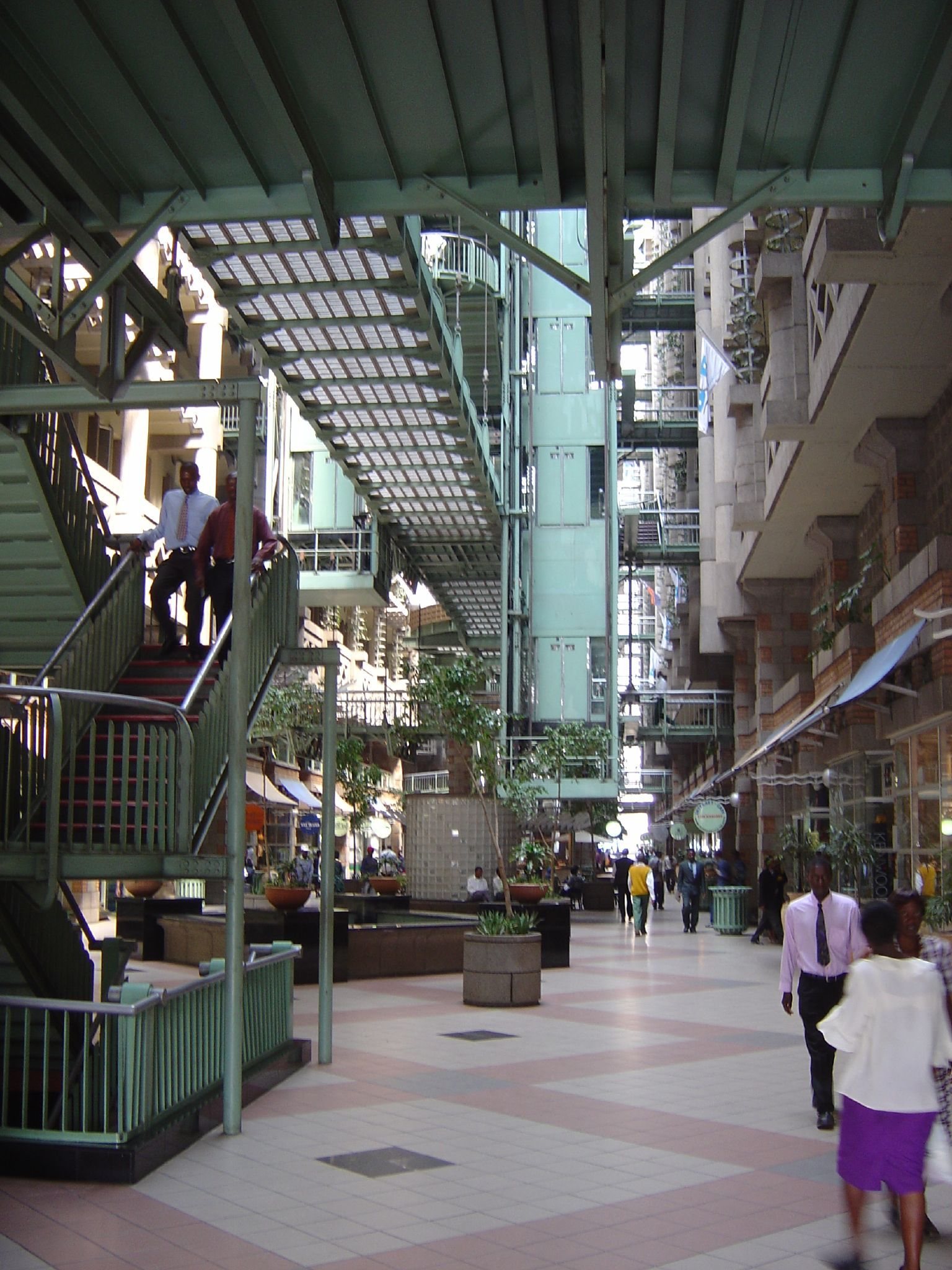 The Award Winning Eco Friendly Eastgate Mall Interior In Harare Zimbabwe Harare Mozambique Southern Africa