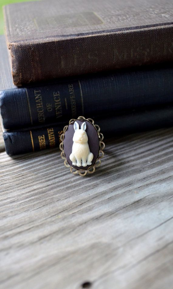 Hey, I found this really awesome Etsy listing at https://www.etsy.com/listing/111551231/woodland-ring-rabbit-ring-woodland-bunny