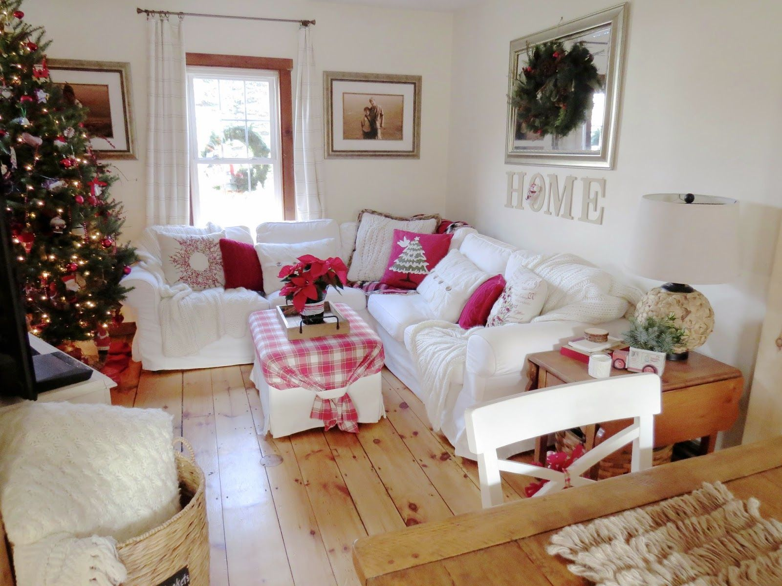 blekinge white ikea sectional sofa with red accents for christmas wide pine floors wide pine. Black Bedroom Furniture Sets. Home Design Ideas