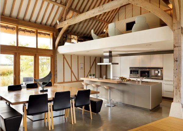 15 Of The Most Incredible Kitchens Under A Mezzanine Maison