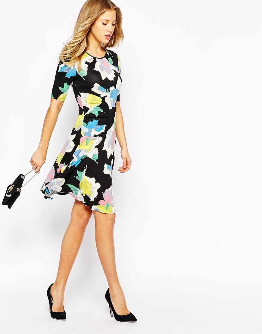 588019990b6e Oasis Bold Bloom Skater Dress | Summer 2015 Dresses | Dresses ...