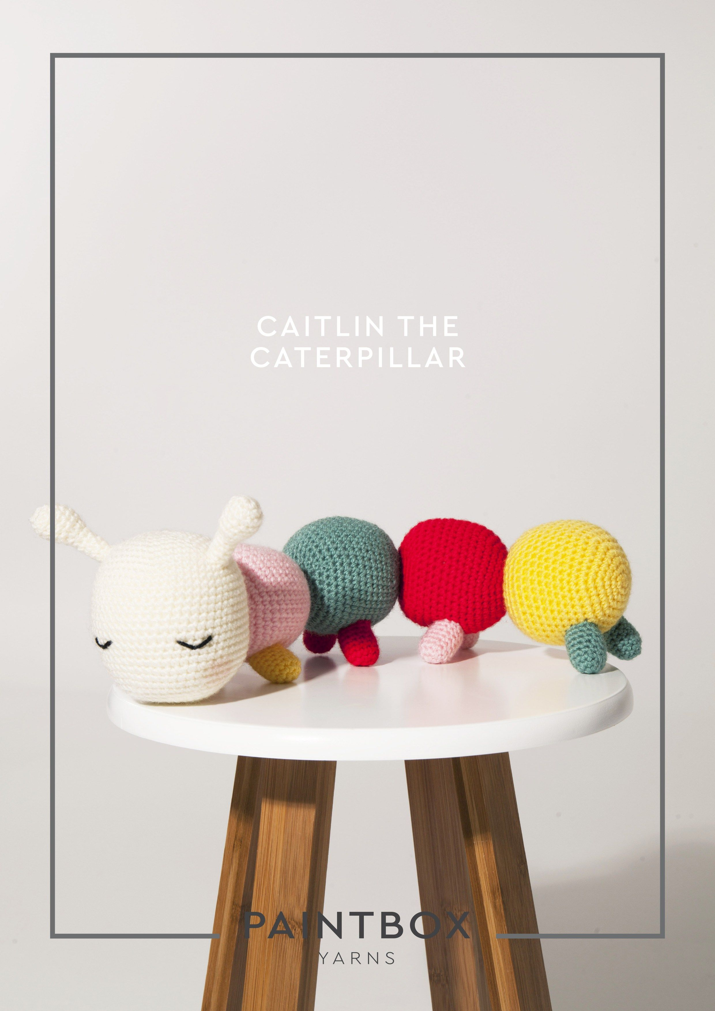 Paintbox Yarns Crochet Pattern - Caitlin the Caterpillar - adorable ...