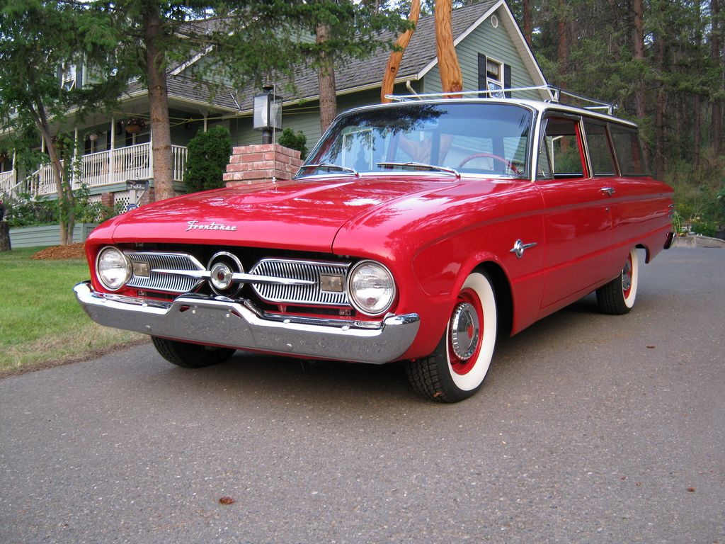 1960 Ford Frontenac Canada Station Wagon Station Wagon Cars Classic Cars Trucks