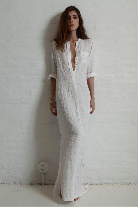 Extra long white linen shirt dress maxi pinterest for Extra long dress shirts