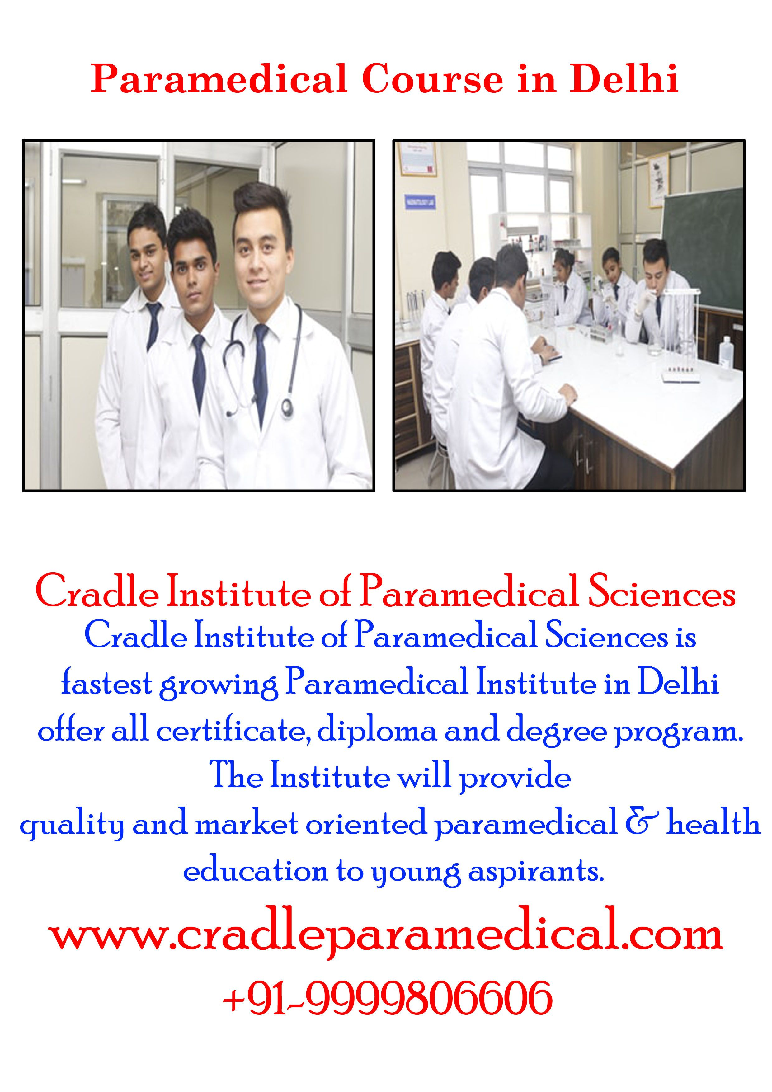 Pin on paramedical institute in delhi