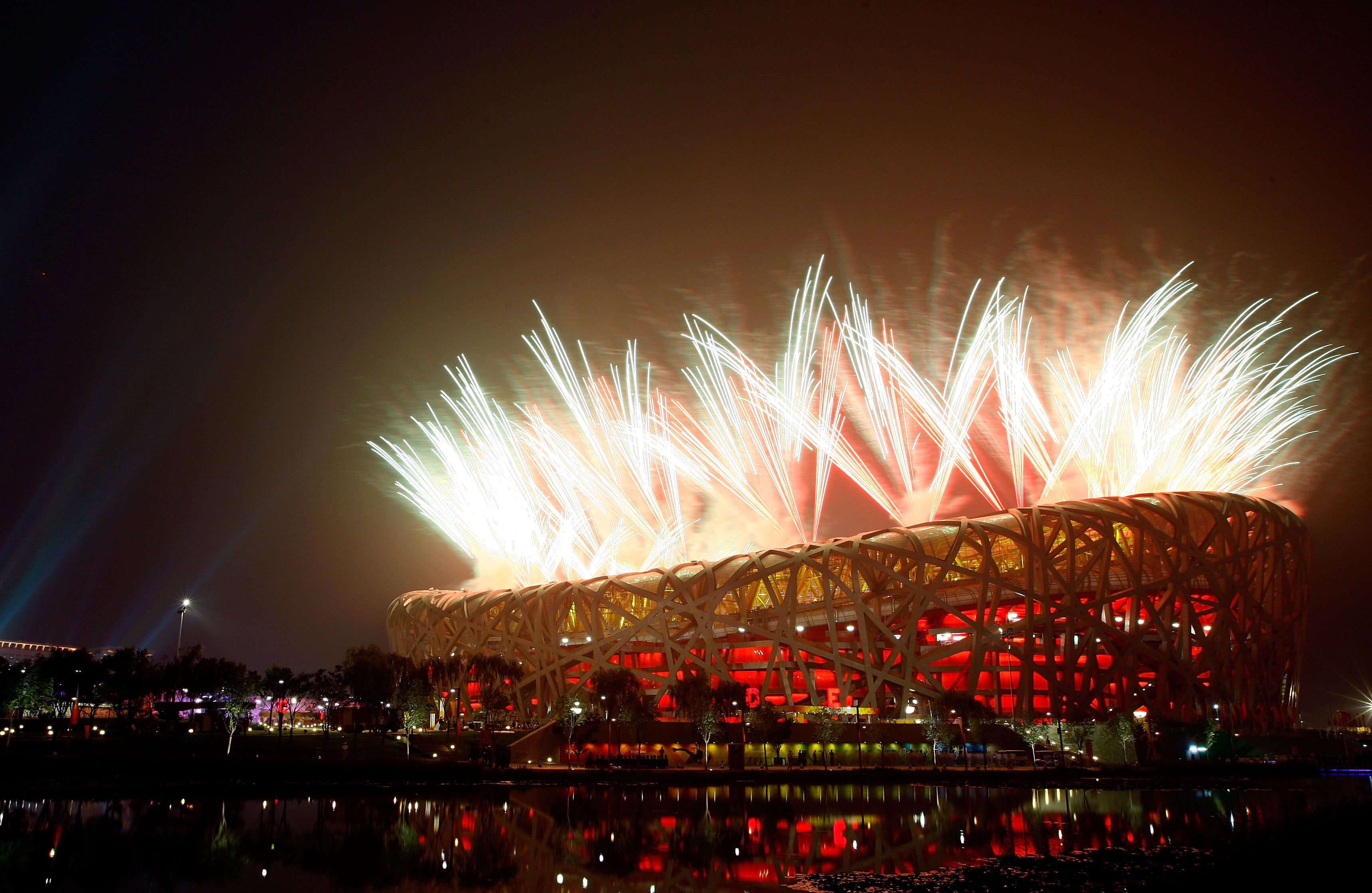 I Want To Go To Beijing Nest One Day Just Visited Beijing Birds Nest Breath Taking Now Fireworks Photography Event Marketing Olympics Opening Ceremony