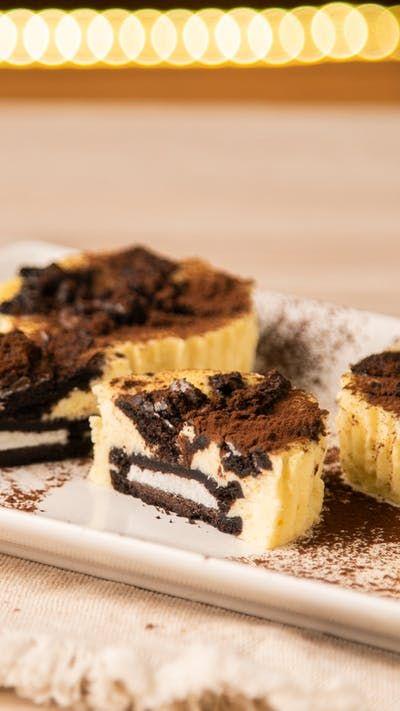 Cupcakes Cheesecake con Oreo ~ Receta